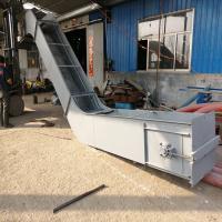 不锈钢链条刮板输送机组成 不锈钢刮板机定制y80331