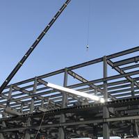 YXB46-200-600闭口镀锌楼承板-宝矿洲际商务中心选用闭口压型钢板