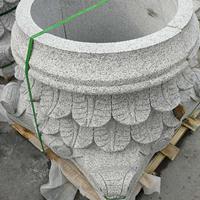石材圆柱罗马柱加工柱墩柱脚