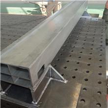 激光切割机铝合金横梁、切割机挤压铝横梁焊接加工