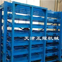 不同的板材想要分类存放可以使用多层存放的卧式板材货架