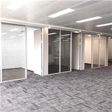供应上海铝合金玻璃隔断,高隔间铝型材,成品办公隔断