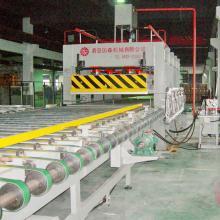 青岛国森机械制造高精度铝蜂窝板压机组设备