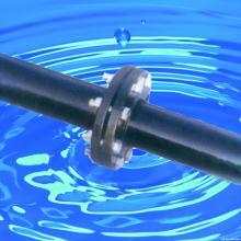 供应矿用涂塑复合钢管远程供液管路热浸塑钢管