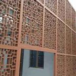 木纹铝窗花厂家-铝挂落生产