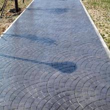 淮南水泥压模模具色彩丰富淮南压模地坪模板抗压强度高
