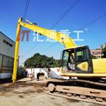 汇通挖掘机加长臂改装、20吨挖机用16米加长臂