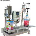 供应30公斤盐酸硫酸液体罐装机 不锈钢生产线