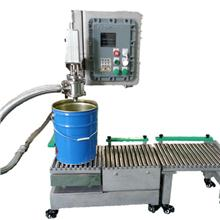 供應25升花生油灌裝機 定量稱重罐裝設備