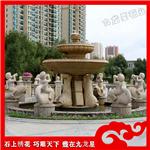 石材水钵-大理石水钵喷泉-大理石喷泉制作价格