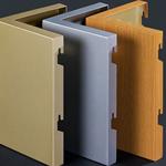 铝单板厂家定制幕墙门头雨棚包柱梁广告牌装饰
