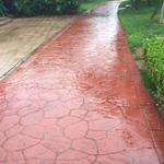 滁州地坪压模地面养护工序滁州压模路面制作耐磨度强