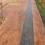 孝感水泥压模模具铺装便捷孝感压模地坪模板耐压止滑