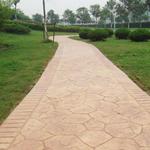 无锡彩色水泥压模抗冲击性强无锡压模路面制作地面材料