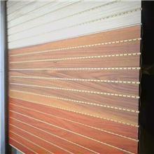 木塑天花吊頂 木飾面40*45天花裝飾板