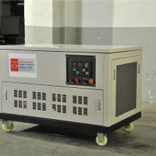 武藤六缸水冷停电用20千瓦汽油发电机