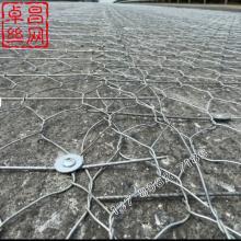 高速公路镀锌路面加筋网-双绞金属加筋网