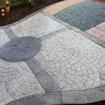蚌埠压模水泥地坪防滑性强度高蚌埠彩色水泥压模价格便宜经济