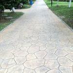 淮南混凝土压模地面材料施工寿命长淮南彩色水泥压模地坪多少钱