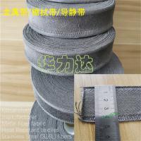 不锈钢316L纤维织带,不锈钢金属纤维针刺布 生产玻璃瓶应用高温布