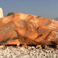 武汉门牌石刻字-500块景观石现货-武汉明石景观石基地