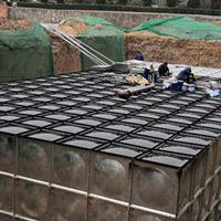 新型地埋式一体化泵箱水池