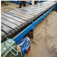 倾斜链板输送机使用注意事项耐高温不锈钢链板输送机Ljy8