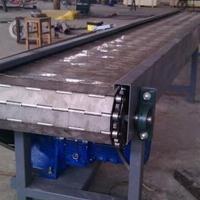 201不锈钢链板输送机水平链板输送机设备供应Ljy8