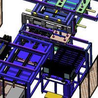 全自動點焊生產線|點焊機器人工作站|自動焊接流水線|自動點焊機