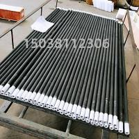 供应高密度等直径硅碳棒高温炉碳化硅管发热量大寿命长