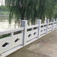 供应阿克苏河道石栏杆桥梁石材护栏的制作与安装-石隆石雕工艺厂