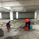 污水池沉降缝堵漏方法