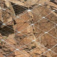 浸塑边坡防护网多少钱      边坡挂网施工