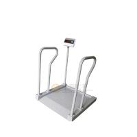 带体重秤的轮椅 透析室手扶轮椅秤