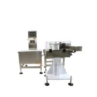 供应在线称重贴标机 水果站大型称重自动贴标机