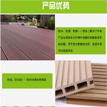 济南塑木地板厂家木塑地板140实心地板价格多少钱一米