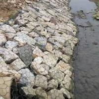 格宾石笼生态堤防固岸是新型生态格宾石笼网挡墙