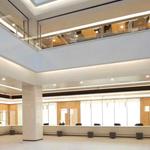 城市服务中心外墙氟碳铝单板_室内装饰木纹铝单板