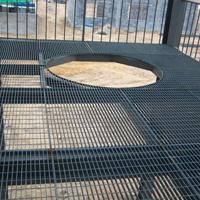 新型钢格栅板,钢格栅板切割,圆形钢格栅板,北辰钢格栅板