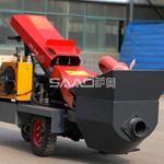 混凝土浇筑泵的使用方法