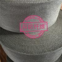 不锈钢丝sus袖套 玻璃钢化架保护条用耐高温金属套管 去污金属布