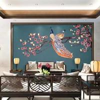 西安卧室背景墙独秀|墙布厂家成批出售价格