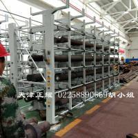 浙江型材货架行吊存放管材 方管 圆钢 槽钢 角钢 钢管 棒料