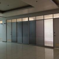 坪山新区办公室铝合金玻璃隔断