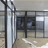 大鹏新区办公室铝合金玻璃隔断