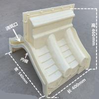 围墙瓦模具,50型墙头瓦,仿古墙帽厂家,院墙压顶瓦模盒