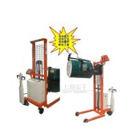 电动油桶堆高车秤 半电动称量电子倒桶秤