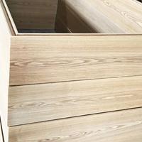 佛山贴真木皮铝单板 贴实木皮铝板厂家
