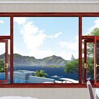 一线门窗品牌/铝合金门窗/7570/安全
