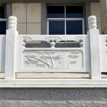 石雕栏杆加工厂-供应伊犁哈萨克自治州石雕栏杆栏板的制作与安装